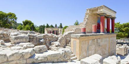 Knossos på Kreta, Grækenland