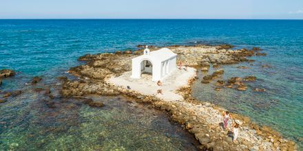 Smuk lille kirke i Georgioupolis på Kreta i Grækenland.