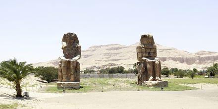 Memnon-statuerne, Krydstogt på Nilen med MS Alyssa, Egypten