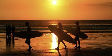 Kuta Beach på Bali.