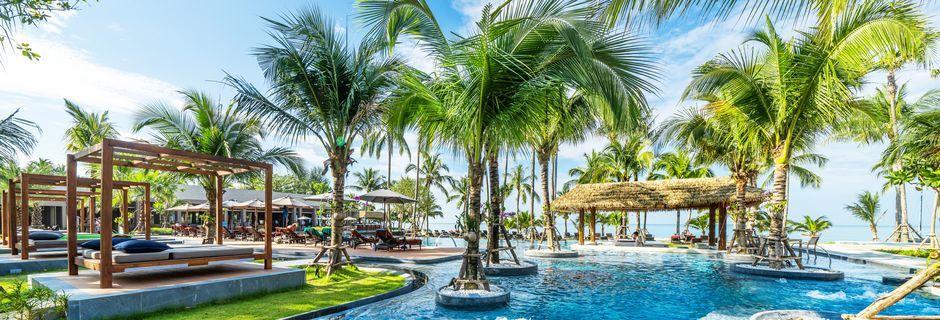 Poolområde på La Flora Khao Lak i Khao Lak, Thailand