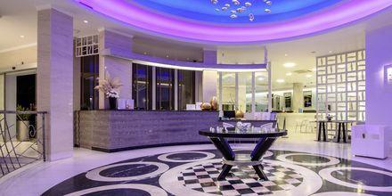 Lobbyen på Hotel La Mer på Santorini, Grækenland.