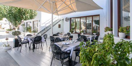 Restaurant på Hotel La Mer på Santorini, Grækenland.