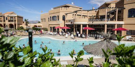 Poolområde på La Pared, Fuerteventura.