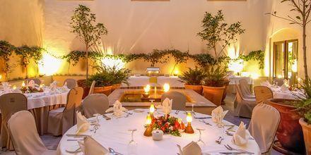 Restaurant Limonero på Hotel La Plantacion del Sur Vincci i Playa de las Americas, Tenerife.