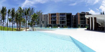 Poolområde på La Vela i Khao Lak, Thailand