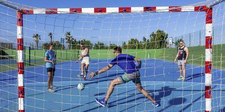 Fodbold på LABRANDA Bahia de Lobos på Fuerteventura, De Kanariske Øer.