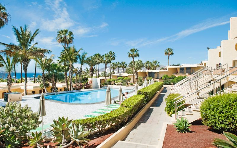 Poolområde på Hotel LABRANDA El Dorado i Puerto del Carmen, Lanzarote