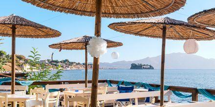 Restaurant i Laganas på Zakynthos, Grækenland