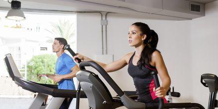 Fitnessrum på Hotel Lagos de Fañabé i Fañabé, Tenerife