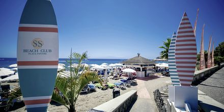 Beach Club på Hotel Lagos de Fañabé i Fañabé, Tenerife