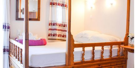 1-værelses lejlighed med karpatisk seng på hotel Lakki Studios i Amopi på Karpathos, Grækenland.