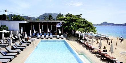 Poolområde på Lamai Wanta Beach Resort på Koh Samui, Thailand.