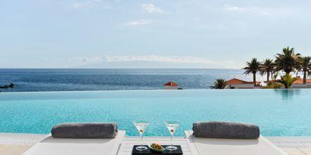 Infinitypoolen på Hotel Landmar Playa la Arena på Tenerife, De Kanariske Øer.
