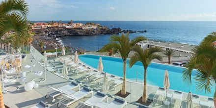 Infinitypool på Hotel Landmar Playa la Arena på Tenerife, De Kanariske Øer.