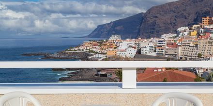 Dobbeltværelse med havudsigt på Hotel Landmar Playa la Arena på Tenerife, De Kanariske Øer.