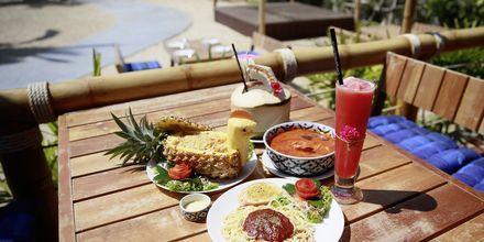 Restaurant på Hotel Lanta Casa Blanca på Koh Lanta i Thailand.