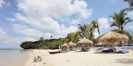 Stranden ved Hotel Lanta Casa Blanca på Koh Lanta i Thailand.