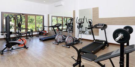 Fitnessrum på Hotel Lanta Casa Blanca på Koh Lanta i Thailand.