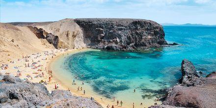 Papagayo-strande på Lanzarote