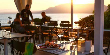 Aften på Rhodos, Grækenland.