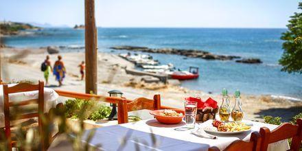 Strand ved Kiotari på Rhodos, Grækenland.