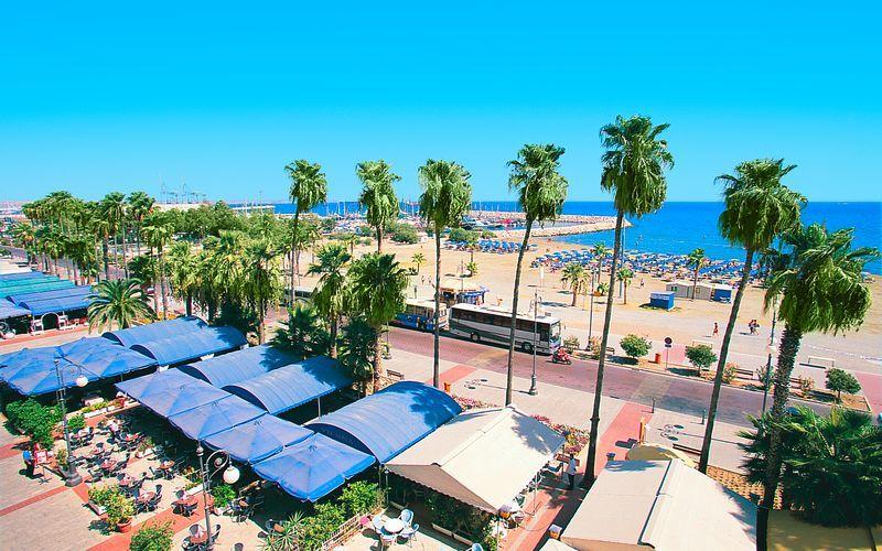 Larnaca på Cypern.