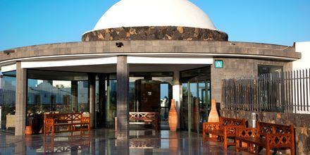 Indgang til Hotel Las Marismas på Fuerteventura, De Kanariske Øer, Spanien.