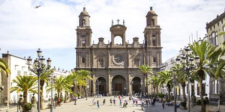 Santa Ana katedralen i Las Palmas på Gran Canaria, De Kanariske Øer.