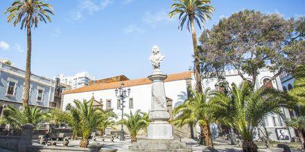 Den gamle bydel i Las Palmas på Gran Canaria, De Kanariske Øer.