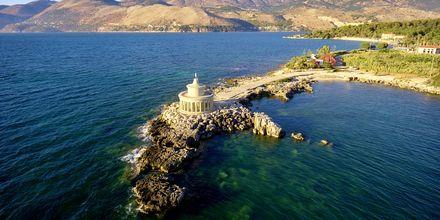 Fyret i Argostoli på Kefalonia, Grækenland