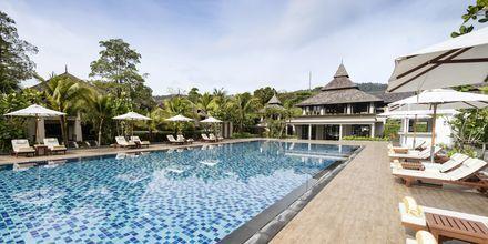 Pool på Layana Resort & Spa på Koh Lanta, Thailand.