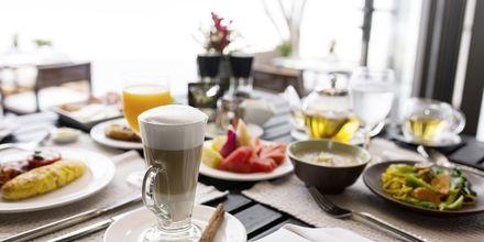 Morgenmadsbuffet på Layana Resort & Spa på Koh Lanta, Thailand.