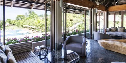 Lobby på Layana Resort & Spa på Koh Lanta, Thailand.