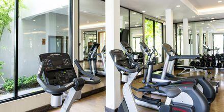 Fitnessrum på Layana Resort & Spa på Koh Lanta, Thailand.