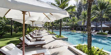 Poolområde på Layana Resort & Spa på Koh Lanta, Thailand.
