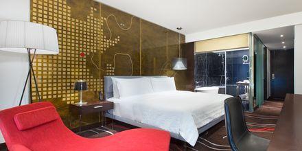 Deluxe-værelse på hotel Le Meridien Saigon i Vietnam.