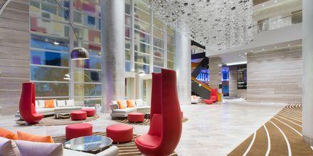 Lobby på hotel Le Meridien Saigon i Vietnam.