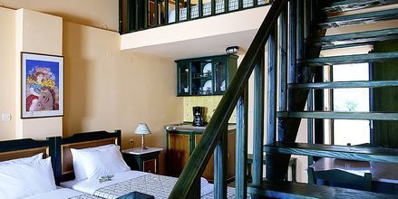 2-værelses lejlighed i etage Hotel Ledra i Votsalakia på Samos, Grækenland.