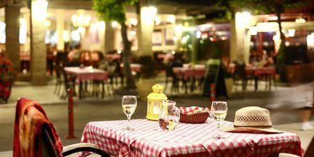 Restaurant i Nidri på Lefkas, Grækenland