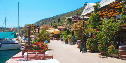 Nidri på Lefkas, Grækenland