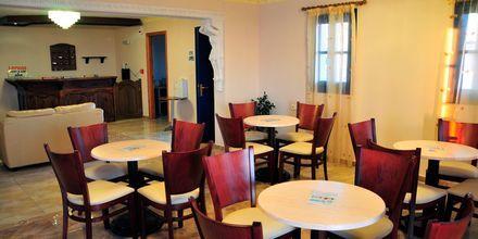 Restaurant på Hotel Lefkos Village på Karpathos, Grækenland.