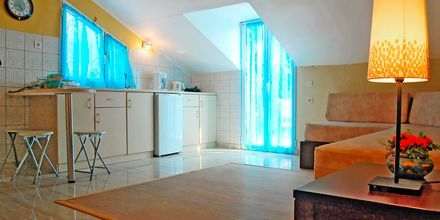 2-værelses lejlighed på Hotel Lemon Tree, Parga, Grækenland.