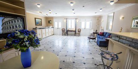 Reception på Hotel Lenox, Samos.