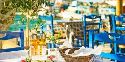 Frokost i solen, Grækenland.