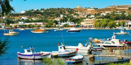På Leros findes der flere pittoreske små havne.