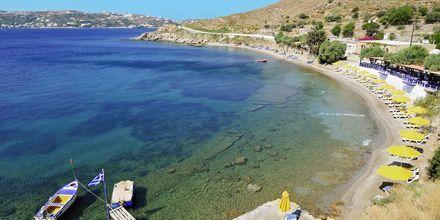 Strand på Leros, Grækenland.