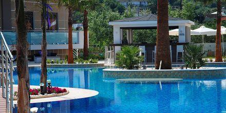 Poolområde på Lesante Classic Luxury Hotel & Spa, Zakynthos, Grækenland.