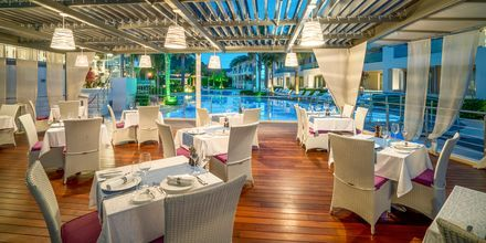 A la carte-restauranten på Lesante Classic Luxury Hotel & Spa, Zakynthos, Grækenland.