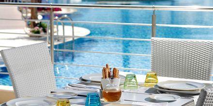 Poolområdet på Lesante Classic Luxury Hotel & Spa, Zakynthos, Grækenland.